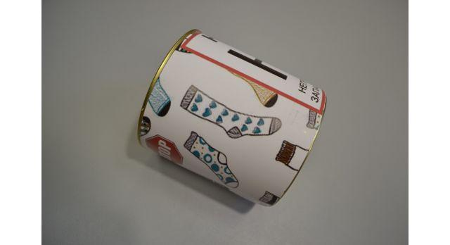 Носки мужские в подарочной упаковке юмористической тематики/Неприкосновенный запас носков [сн-361]