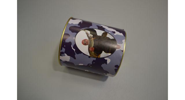 Носки мужские в подарочной упаковке юмористической тематики/Носки сурового рыбака [сн-369]