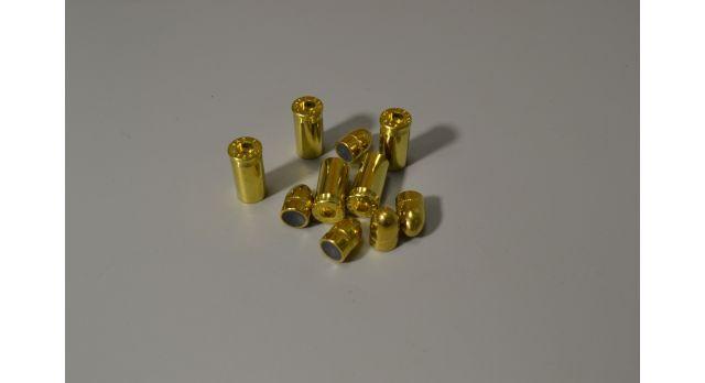 Комплект 7.65х17-мм (32 auto) пуля с капсюлированной гильзой /Новый оболоченная пуля и латунная гильза без капсюля [мт-471-1]