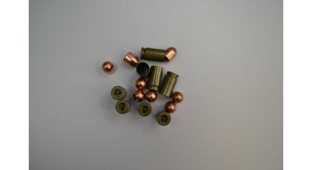 Комплект для ПМ  Новый оболоч. пуля со стальной гильзой без капсюля [мт-434-1]