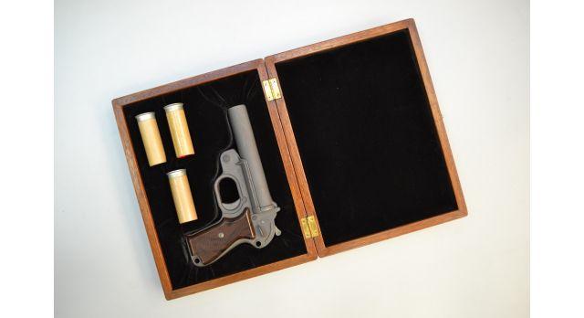 Подарочный футляр для ракетницы Геко