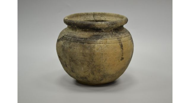 Пищевая ваза черняховской археологической культуры/Оригинал, III век, диаметр 15,5 см, высота 14 см [др-53]