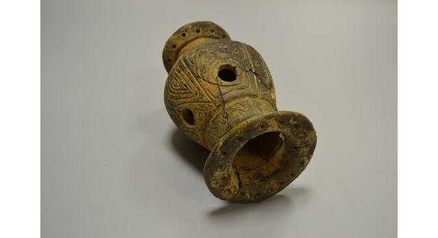 Древнеримская курильница/Оригинал, Римская империя, I-II вв., диаметр 10 см, высота 15 см [др-42]