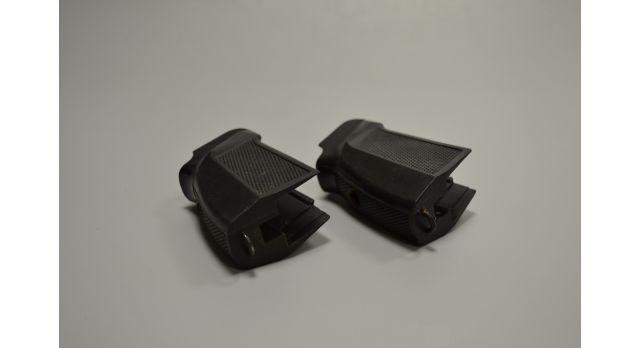Рукоять для пистолета ПММ/Оригинал Б\У для пистолета Макарова модернизированного, черный бакелит [пм-69]