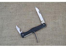 Нож складной трехпредметный длиной 115 мм