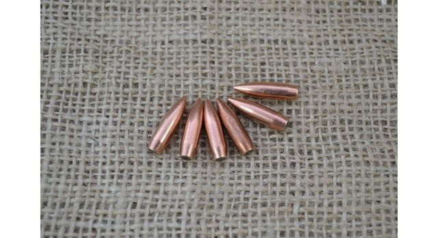 Пули .223 Rem/Новые оболоченная с конусом, оболочка пули биметаллическая, масса 4,0 г [пул-73]