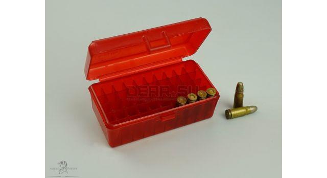 Пластиковая коробка для патронов / Под 50 патронов Medium Pistol [мт-391]