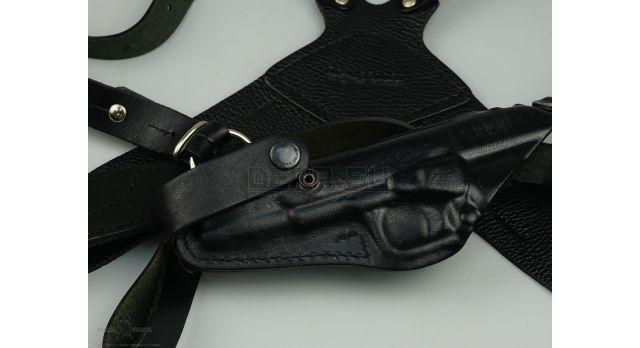 Кобура Stich Profi оперативная для пистолета ТТ / Черная кожа новая [сн-207]