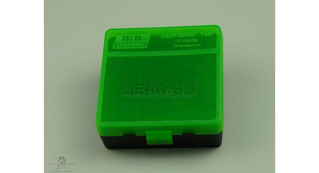 Контейнер пластиковый для патронов MTM Case Gard 100 /  [мт-322/1]