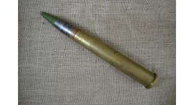 Учебный 37-мм выстрел для В-11, В-11М: Оригинал б/у 1942 год с осколочно-трассирующим снарядом [мт-937]