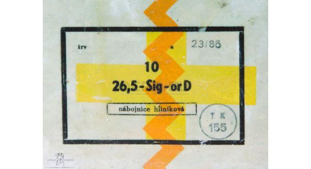 Сигнальный патрон 26-мм (4-й калибр) / СП-26 Оранжевый дым [сиг-185]