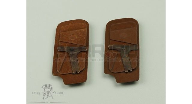 Накладки на рукоятку для пистолета ТТ [тт-26] Коричневый бакелит левая склад