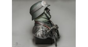 Бюст «Мотоциклист Вермахта с MP-40»