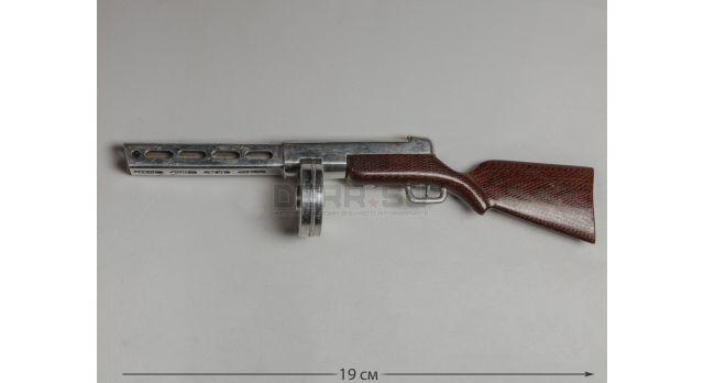 Модель пистолета-пулемета Шпагина ППШ-41