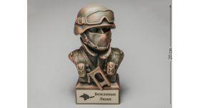 Бюст «Снайпер спецподразделения»