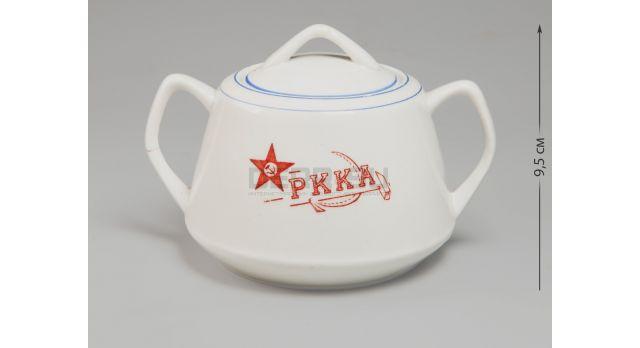 Сахарница РККА с крышкой / Тип 2 люкс [ф-85]