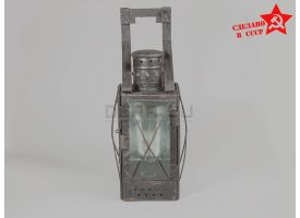 Свечной железнодорожный фонарь