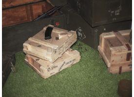 Армейский укупорочный ящик для учебных патронов