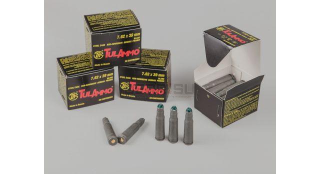 Холостые патроны для АК-47 (7,62х39-мм) / Стальные фосфатированные TulAmmo [сиг-196]