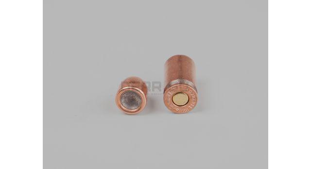 Комплект 9х18-мм (для ПМ) пуля с капсюлированной гильзой / Новый оболоченная пуля с биметалической гильзой НПЗ [мт-532]
