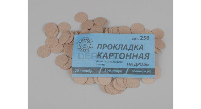Прокладка картонная на дробь / 20 калибр 300 шт. [мт-485-1]