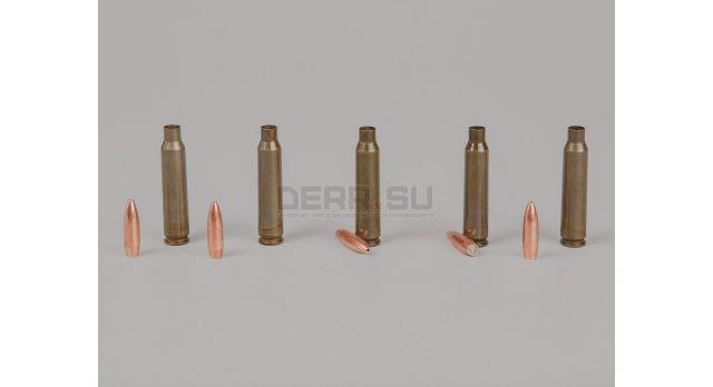Комплект .223 пуля с гильзой / Новый экспансивная пуля и стальная лакированная гильза Барнаул [мт-636]