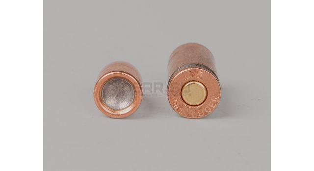 9х19-мм Новый оболоченная биметалическая пуля и биметалическая гильза НПЗ [мт-653]