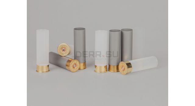 Гильзы с капсюлем 12 калибра / Новые высота основания 12 мм общая высота 70 мм [гил-64]