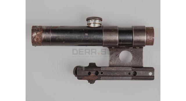 Оптический прицел ПУ 3.5х22 / Оригинал 1944 года №52345 с кронштейном Кочетова [по-13-1]