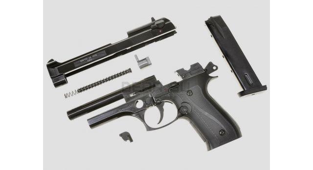 Холостой пистолет Beretta 92 с автоматическим режимом стрельбы / B92-СО (Курс-С) под 10ТК [мт-703]