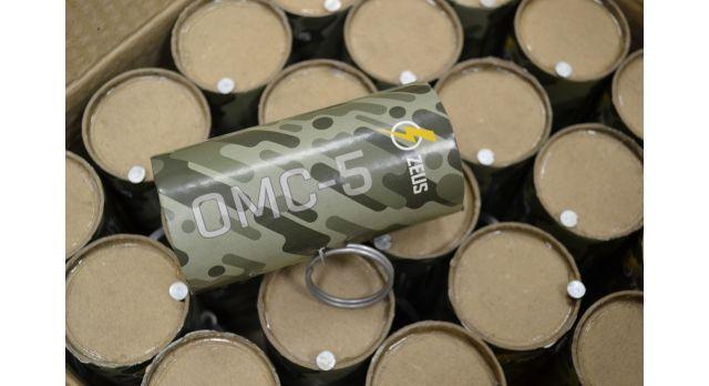 """Страйкбольная мина-растяжка ОМС-5 (Zeus)/Мина """"Сюрприз"""", поражающий элемент горох [сиг-489]"""