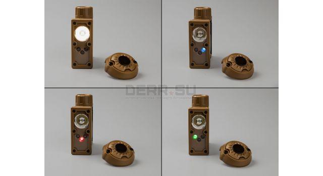 Фонарь светосигнальный для каски из комплекта экипировки «Ратник»