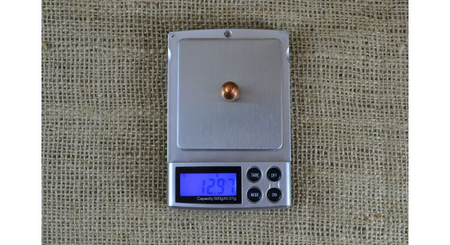 Пули .44 Special (10.5х29-мм R) / Новые оболоченные масса 12,97 г [пул-52]