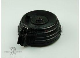 Дисковый магазин для АК на 75 патронов (7.62х39-мм)