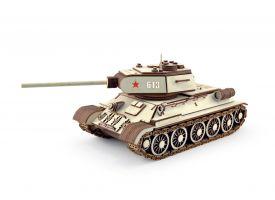 Конструктор 3D деревянный подвижный  Танк Т-34-85
