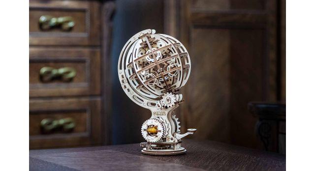 Конструктор деревянный 3D Кинетический глобус/Комплект для сборки [КД-2003]
