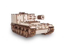 Конструктор деревянный 3D  Танк САУ-212