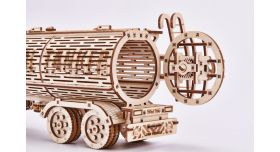 """Механический 3D-пазл из дерева """"Биг Риг Цистерна""""/Комплект для сборки [КД-2006]"""