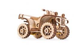 Механический 3D-пазл из дерева  Набор машинок