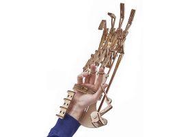 Механический 3D-пазл из дерева  Экзоскелет Рука