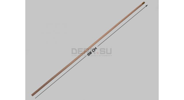 Шомпол для гладкоствольного оружия /  Цельный, деревянный, диаметр: 12-мм; длина: 90 см [мт-754]