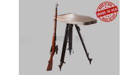 Стрелковый стол MTM / На треноге; размеры поверхности: 43х84-см [HLST]