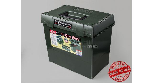 Влагозащищённый ящик для хранения патронов и принадлежностей MTM / Зелёный 38х22х33-см [SPUD2-11]