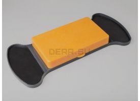 Универсальная подставка для гильз с ковриком для смазки