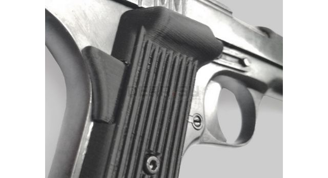 Лазерный целеуказатель (ЛЦУ) для ТТ / Сменная накладка с ЛЦУ [тт-206]