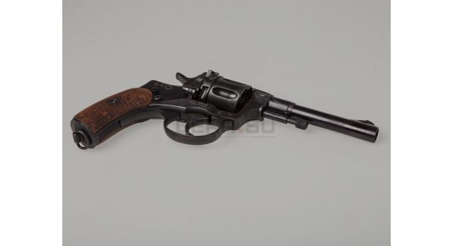 Царский сигнальный револьвер Наган «Блеф» / Из оригинала 1916 года [наган-118]