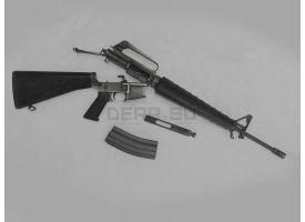 Охолощённый автомат М16А1 / Оригинал охолощение РОК под холостой патрон .223 [со-47]