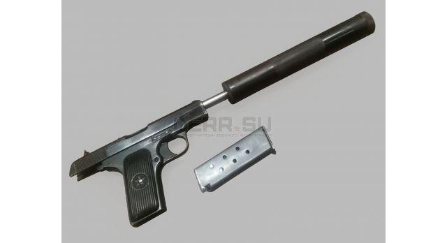 Глушитель для пистолета ТТ с цельнофрезерованным сепаратором