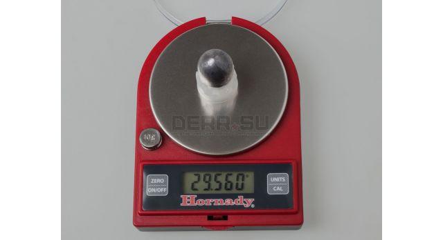 Пуля «Импульс-1» 12 калибра / 10 шт. Свинцовая с пластиковым контейнером 29,5 грамма [нг-26]