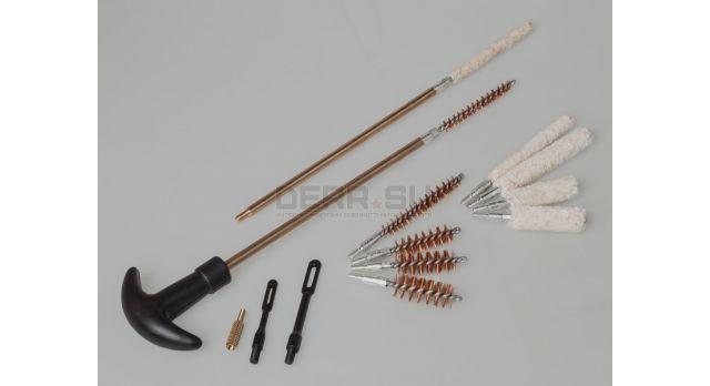 Универсальный набор для чистки пистолетов / Для калибров .22; .357(9-мм); .38; .40; .44; .45 [нг-59]
